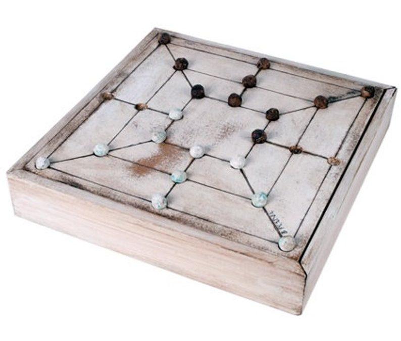 Juegos de mesa de madera antiguos