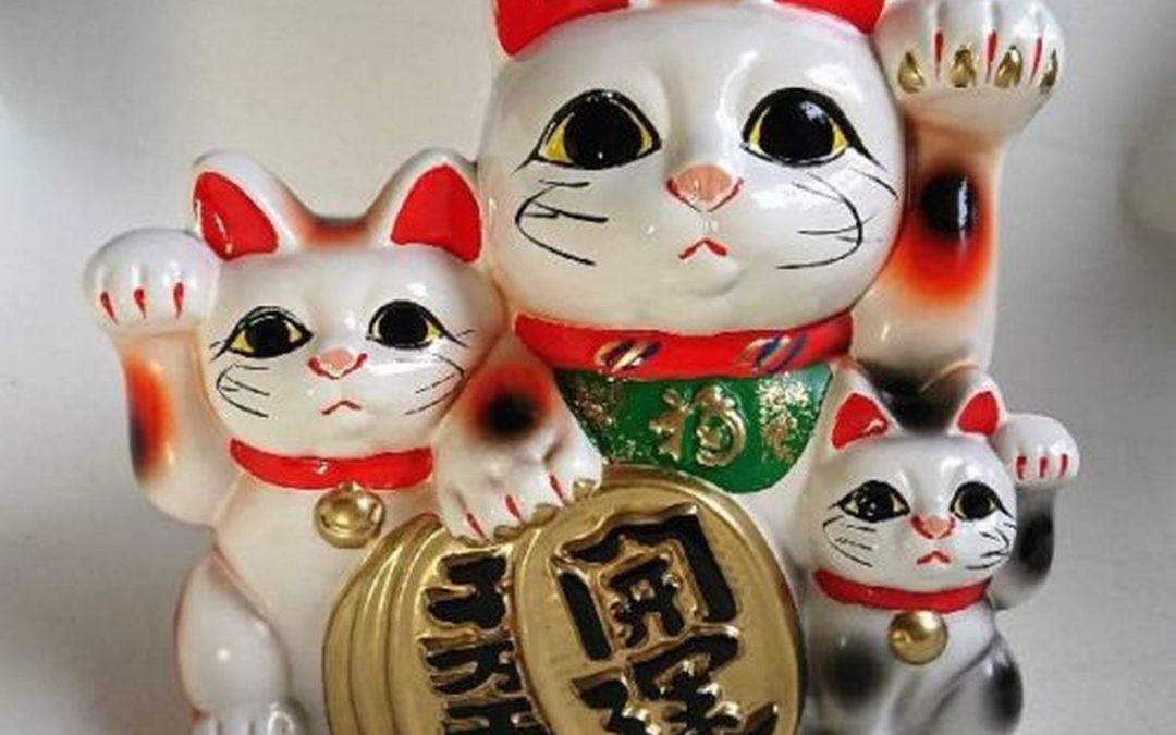 Maneki Neko el gato de la suerte