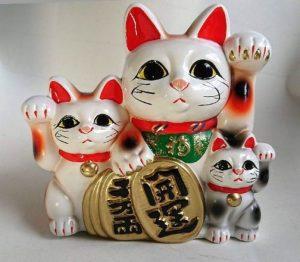 Maneki Neko gato de la suerte